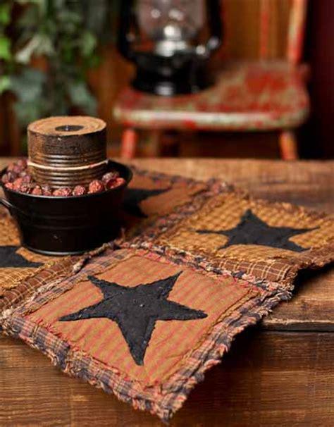 Primitive Patchwork - primitive patchwork table square textiles and