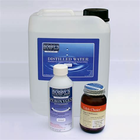 Bhs Detox by Hydrogen Peroxide Detox Kit Food Grade Hydrogen Peroxide