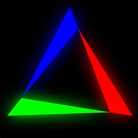 wallpaper abstrak segitiga gambar singkat mudah membuat efek cahaya keren photoshop