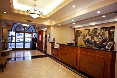 hotel front desk supplies green and stylish front desk hotel interior design of the