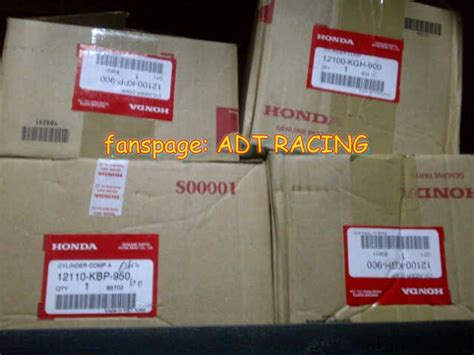 Blok Buring Honda Sonic Original adtracing spare parts motor cbu dan part racing drag bike roadrace spare parts cbr150 cbu