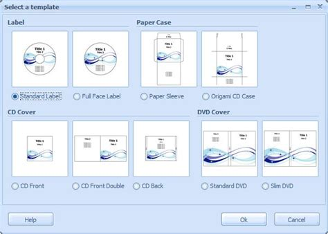 Word Vorlage Dvd Cover Ronyasoft Cd Dvd Label Maker Freeware De