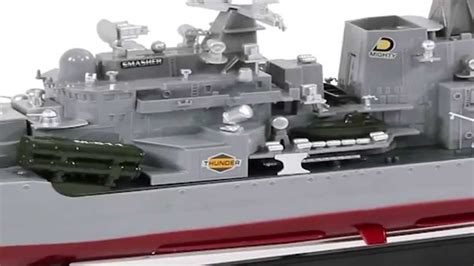 rc boats war rc battleship thunder destroyer warship navy boat 1 115
