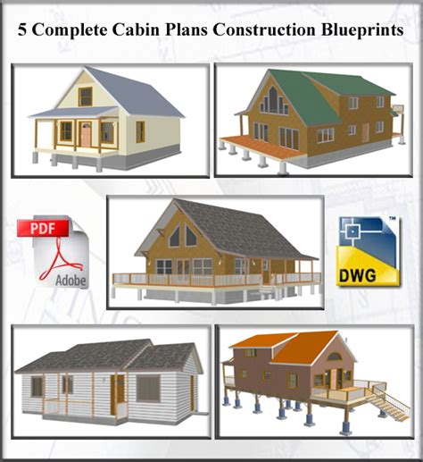 building plans for cabins cabin plans and designs