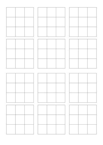 mut 17 blank card template 17 best ideas about bingo template on letter o