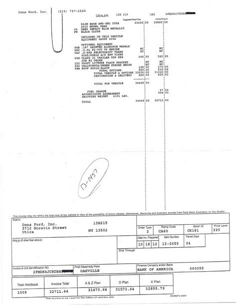 ford x plan pricing canada ford invoice price invoice design inspiration