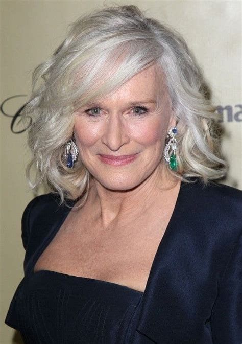 platinum hair older woman 25 popular hairstyles for women over 50 hairstyles for