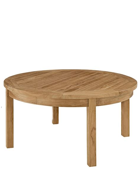 Teak Outdoor Coffee Table Teak Outdoor Coffee Table Modern Furniture Brickell Collection