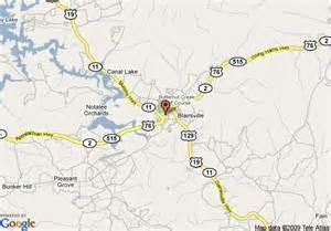 map of inn express blairsville blairsville