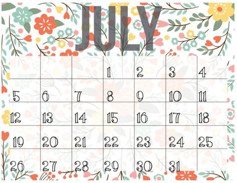 calendario julio  imagenes  descargar  imprimir