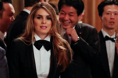 hope hicks voice hope hicks dons a tuxedo at japan state dinner the