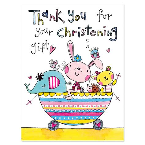 christening gift thank you cards baptism thank you cards party ark - Thank You Cards For Christening Gifts