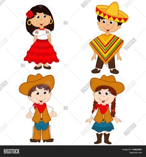 imagenes de la revolucion mexicana en dibujos animados set isolated children mexican vector photo bigstock