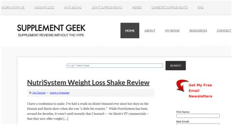 supplement geeks top 25 blogs for peak performance anabolic health