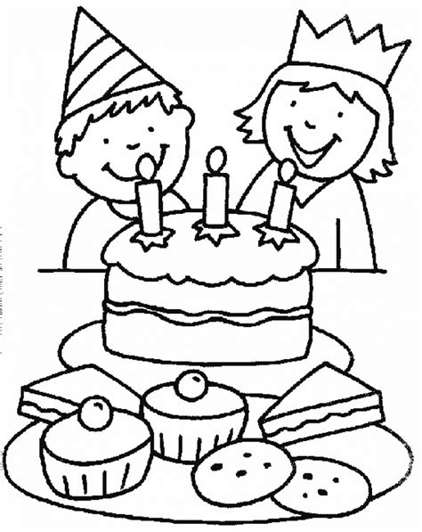 free birthday cake coloring pages to print get this birthday cake coloring pages free printable 51582