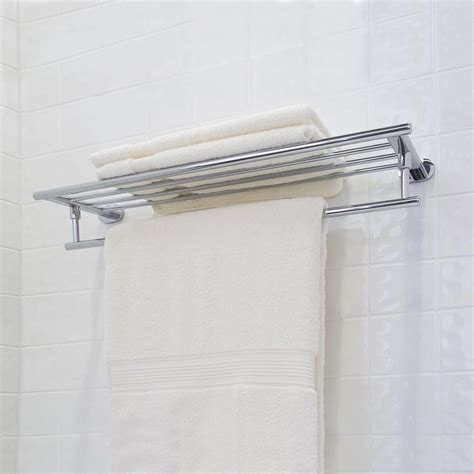 Hotel Towel Shelf by Hotel Style Towel Rack Images