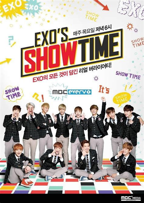 exo show exo s showtime official poster exo photo 36134173 fanpop