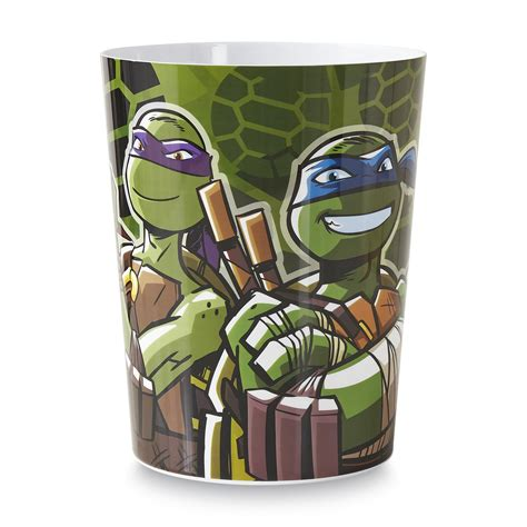 nickelodeon mutant turtles wastebasket home bed bath bath bathroom