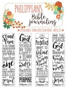 Bible Study Journal Template by 4 Bible Journaling Digital Printable Template