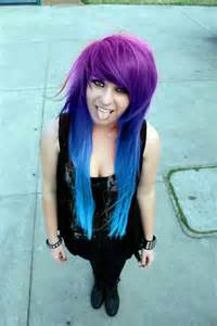 purple blue hair color blue purple ombre hair color hairstyles