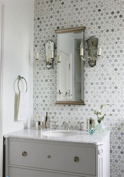 Mosaic Bathroom Wall by 40 Grey Mosaic Bathroom Wall Tiles Ideas And Pictures