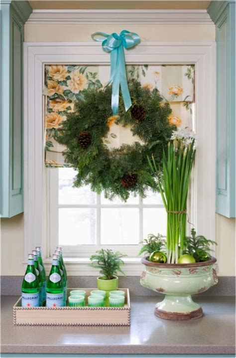 decorated cooking urn focal point styling christmas kitchen decorating ideas
