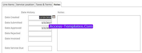 small business access database template image collections