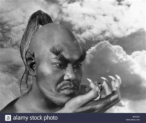 The Thief Of Bagdad rex ingram sabu the thief of bagdad 1940 stock photo
