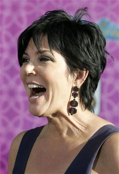 pic of back of kris jenner hair cut kris jenner kris jenner hairstyles and jenners on pinterest