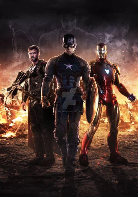 avengers endgame trinity mizuriofficial deviantart