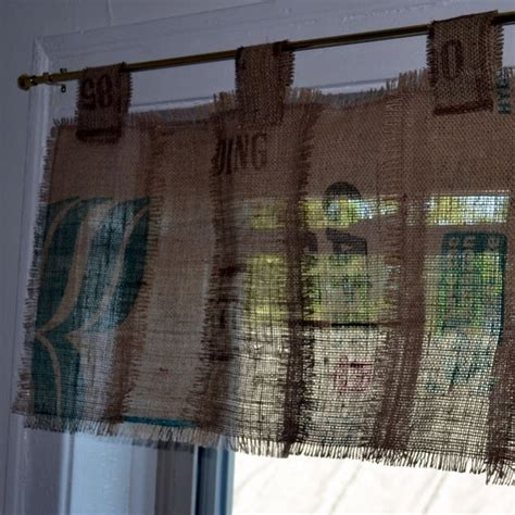 coffee sack curtains 17 best images about curtain ideas on pinterest burlap