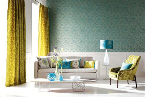 blue and yellow home decor 25 gorgeous yellow accent living rooms