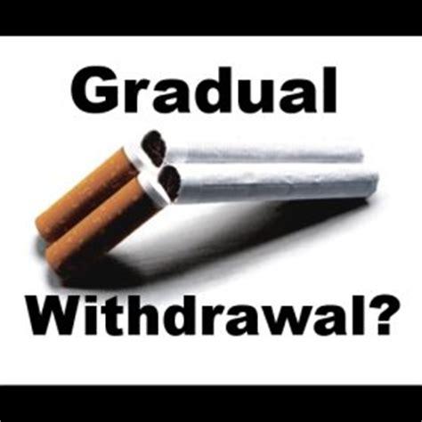 Gradual Detox by Quitting By Gradual Withdrawal