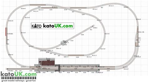 Kato Unitrack Scenic Local Line Track Plan | kato unitrack scenic local line track plan