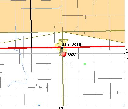 san jose illinois map 62682 zip code san jose illinois profile homes