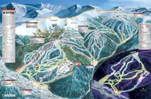 colorado ski map keystone resort
