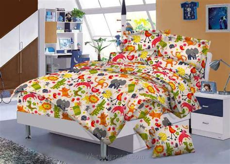 Bedset Katun Jepang Uk 120 T 25 bed cover set ikea animal uk 120 t 25cm warungsprei