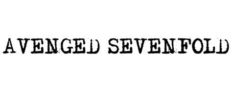 Kaos Avenged Sevenfold Logo 02 hingderdingder