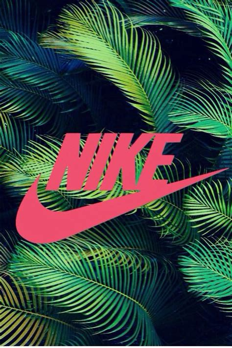 wallpaper iphone 5 just do it nike sign nike wallpaper tropical background pink