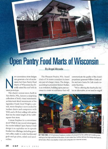 open pantry open pantry food marts of wisconsin