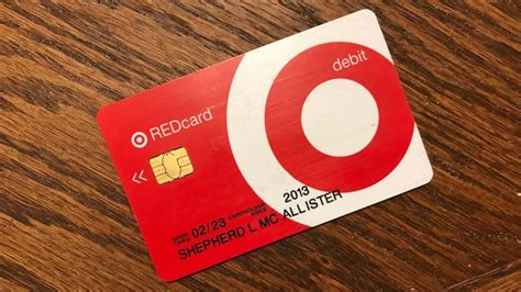 target cards stay in the black by saving 5 on everything with target s