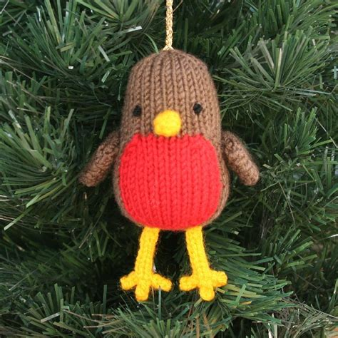 knitting pattern christmas robin christmas robin