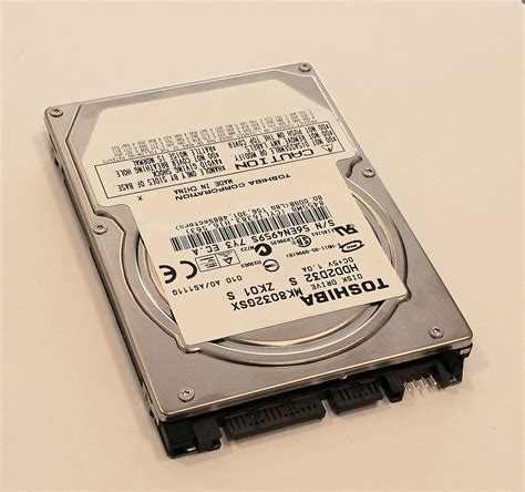 Hardisk Laptop Sata 80gb toshiba 80gb mk8032gsx notebook laptop festplatte hdd disk sata 2 5 zoll kaufen bei de