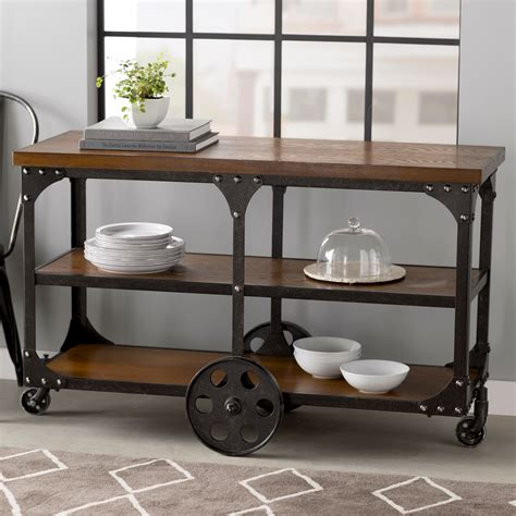 sofa table on wheels discover 41 types of foyer tables for accents and storage