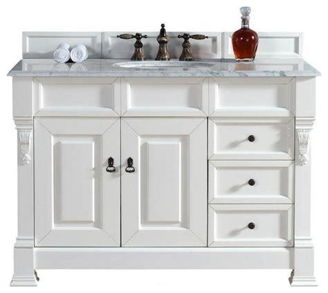 61x22 vanity top single sink martin furniture 48 quot vanity cabinet drawers