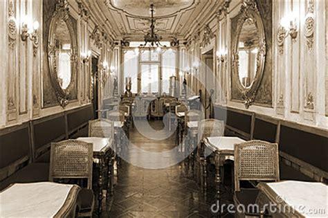 vintage cafe interior  wooden furniture royalty