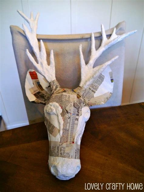 How To Make A Paper Mache Stag - 187 rachael and restoration taxidermy