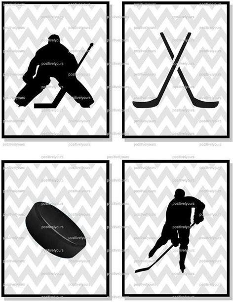 printable hockey decorations 188 best sports printables images on pinterest