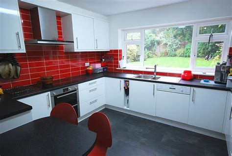 black white and red kitchen ideas blue red kitchen design ideas photos inspiration