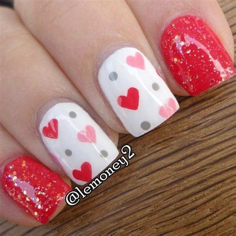 12 gorgeous valentines day nail ideas 2017 the best valentines nails designs that will bring you joy